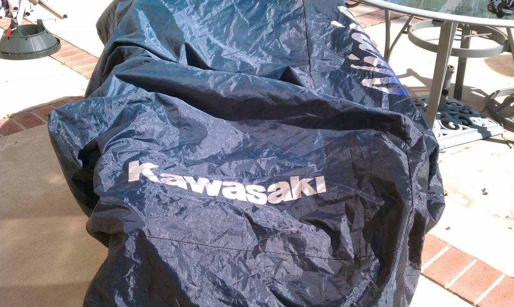 kawasaki bike cover