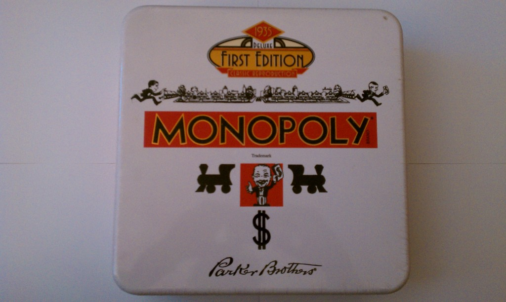 first edition monopoly